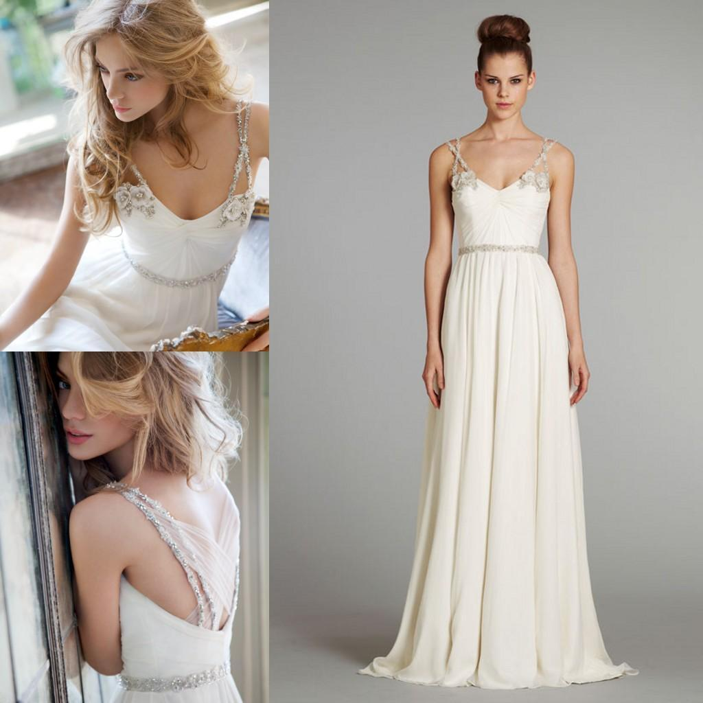 Grecian Style Wedding Gown: The Best Grecian Wedding Dresses » The My Wedding